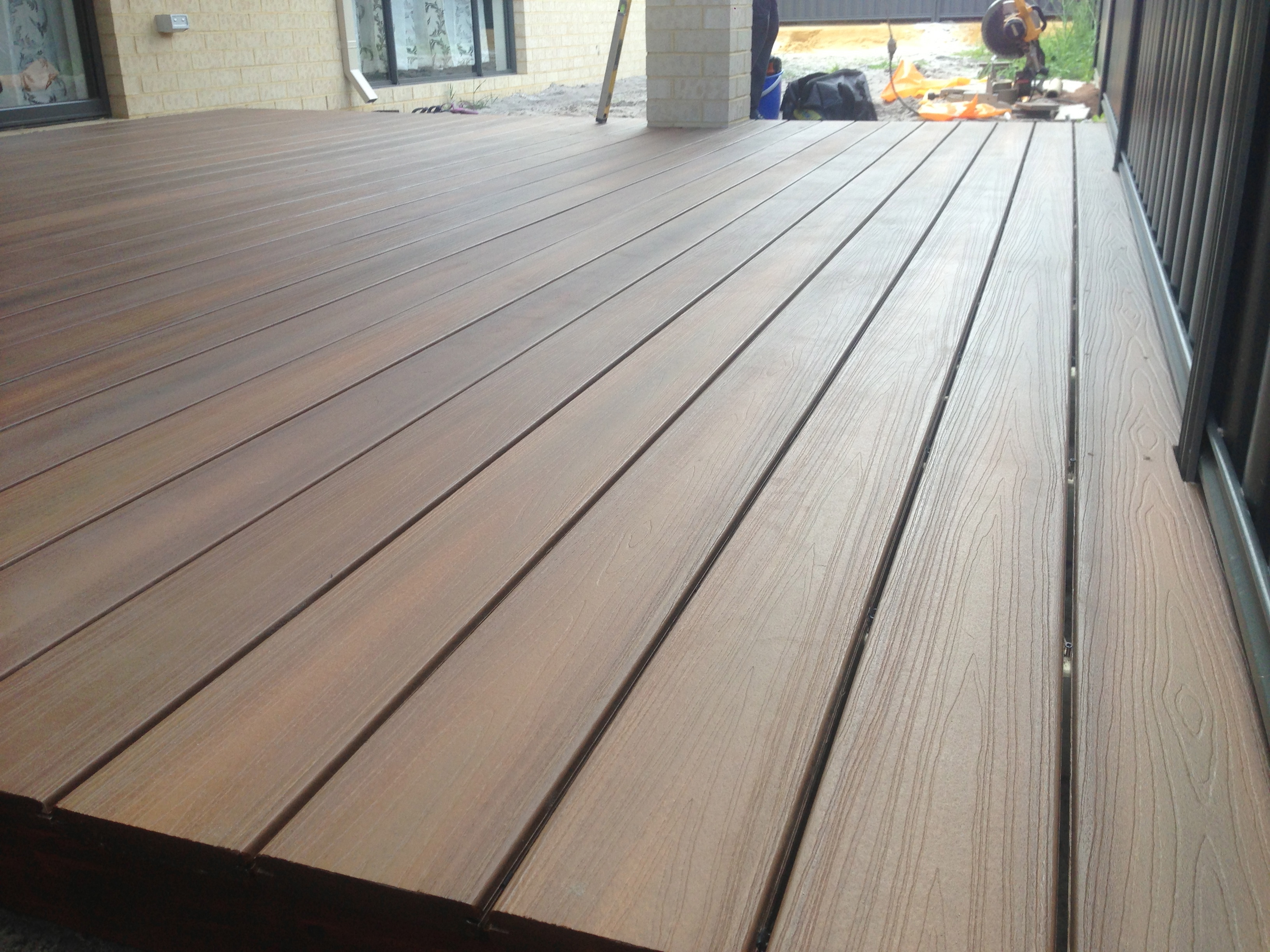 Lansdale composite decking perth for Composite decking brands