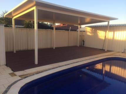 Nex Gen Rosewood composite deck
