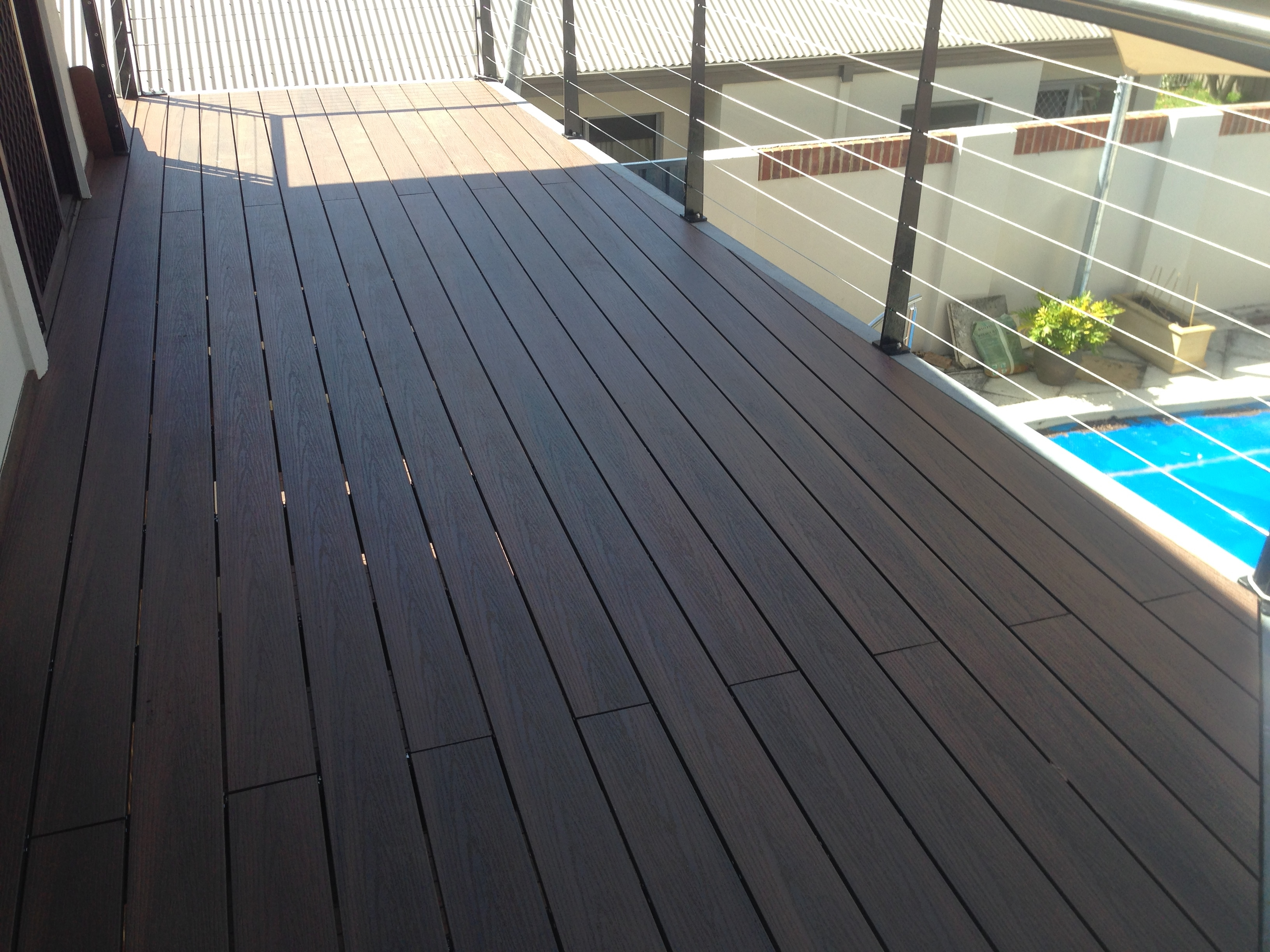 Suntec composite decking composite decking perth for Compare composite decking brands