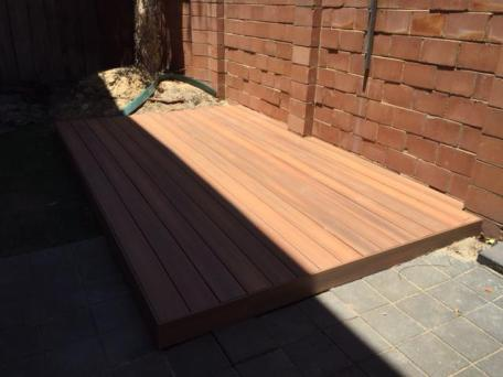 after shot with Nex Gen Decking