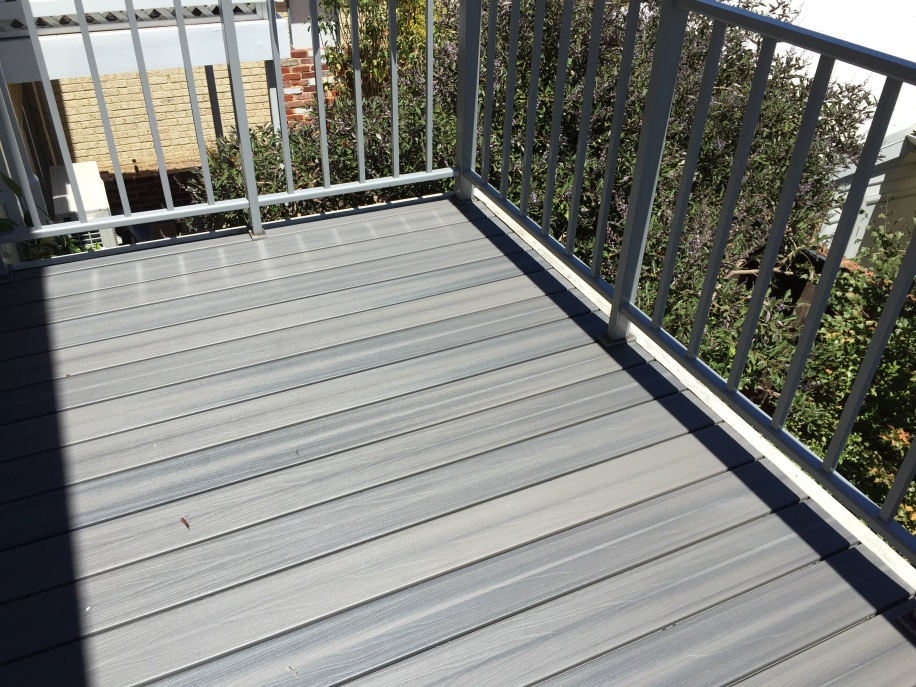 NexGen Composite Decking in Grey colour