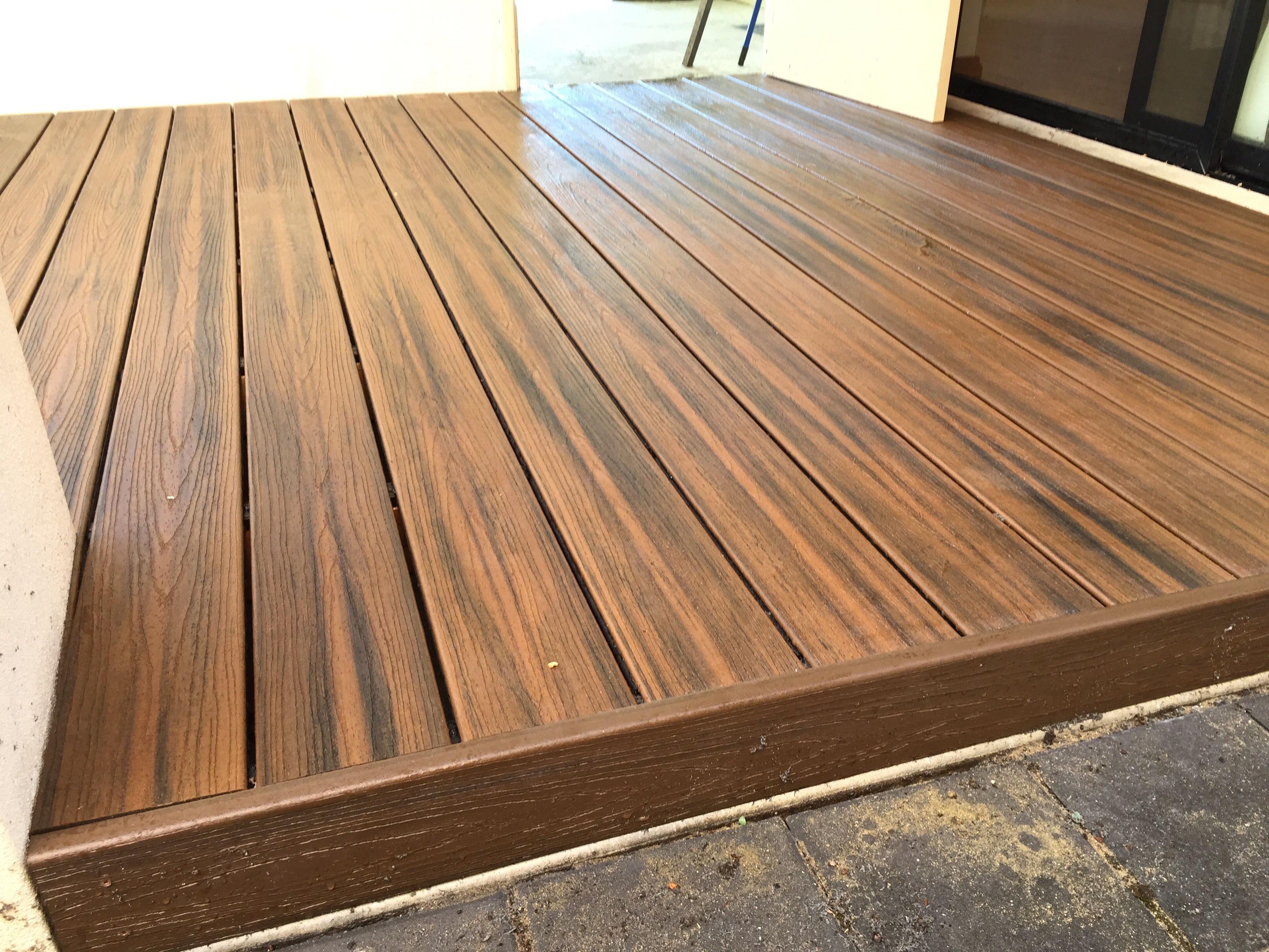 Trex deck boards composite decking perth for Compare composite decking brands