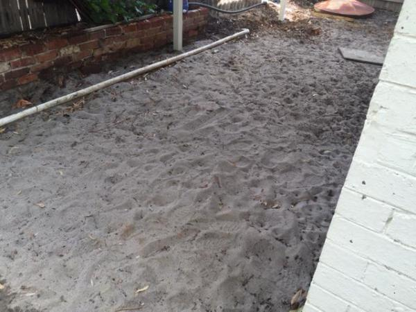 Before Trex Decking Picture