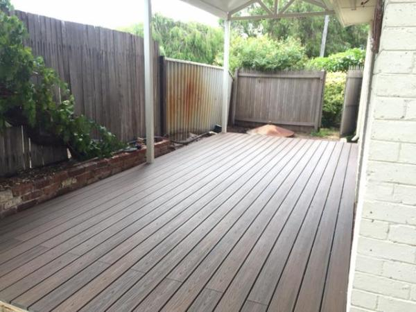 After Trex Decking Picture