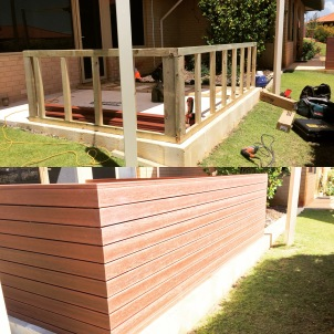 Mod wood Decking