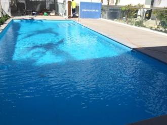Ultra deck around pool