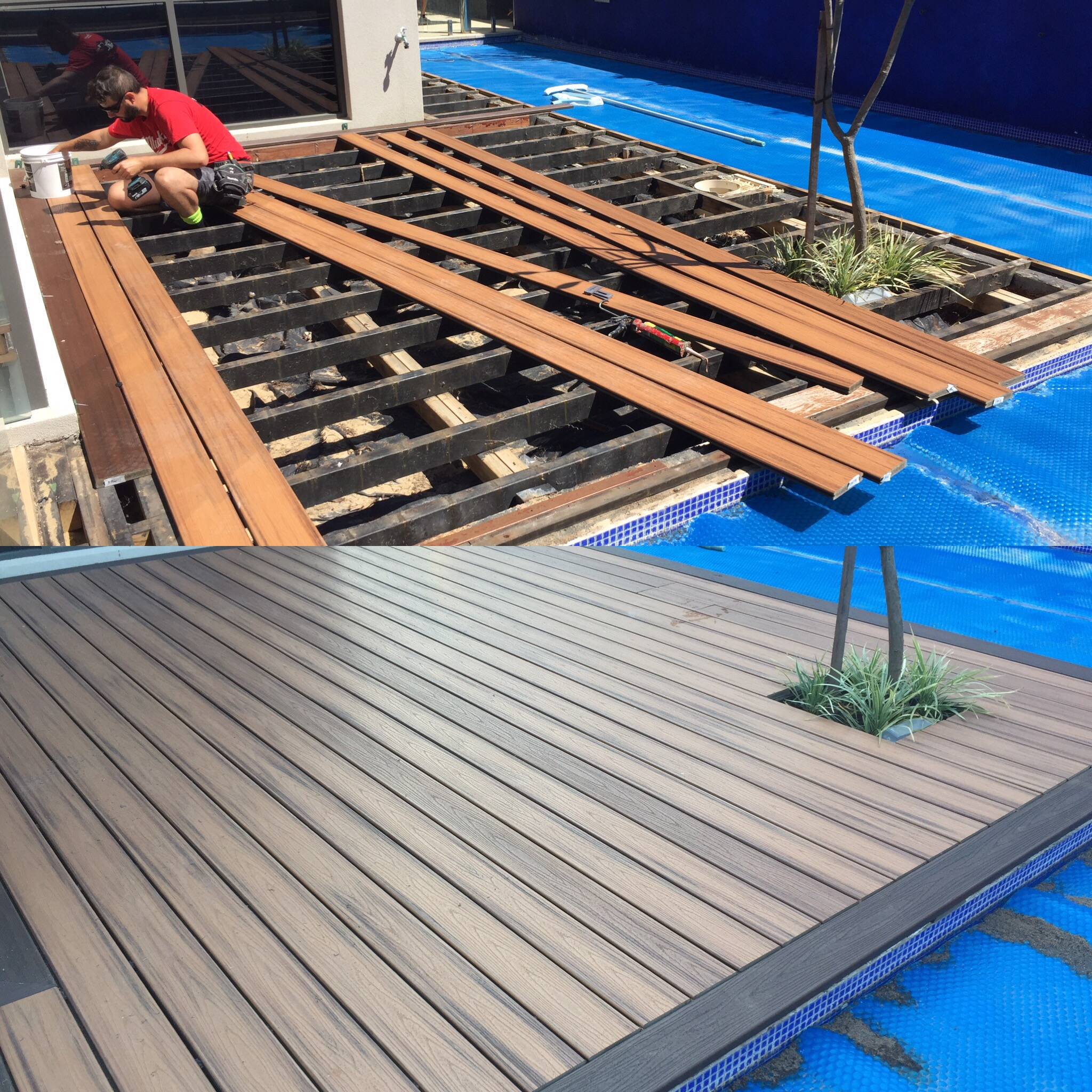 Mullaloo beach composite decking perth for Composite decking brands