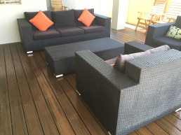 Trex Transcend Decking in Spiced Rum